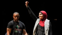 Strife muted at controversial pro-Palestinian event at UMass Amherst