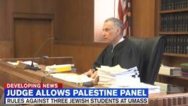 Judge allows Palestine panel at UMass to take place Saturday