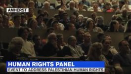 Palestinian Human Rights Panel Held at UMass Following Controversy